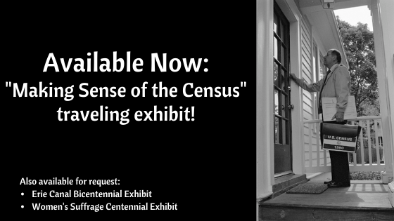 Making Sense of the Census is a new traveling exhibit that WNYLRC members can request at the link!