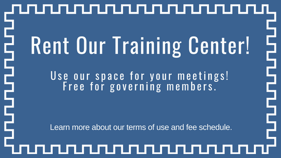 Rent our training center for your meetings!