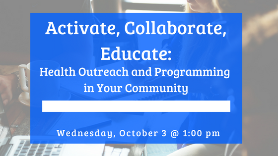Activate, Collaborate, Educate