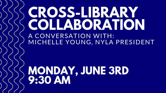 Meet Michelle Young at WNYLRC on June 3rd at 9:30 am!