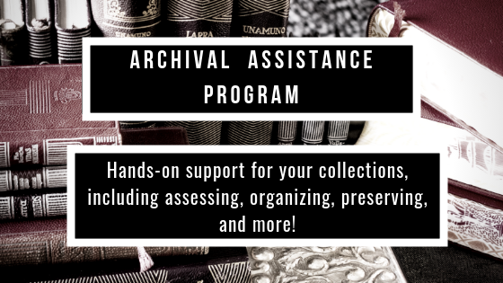 Apply to get help from an Archival Assistant!