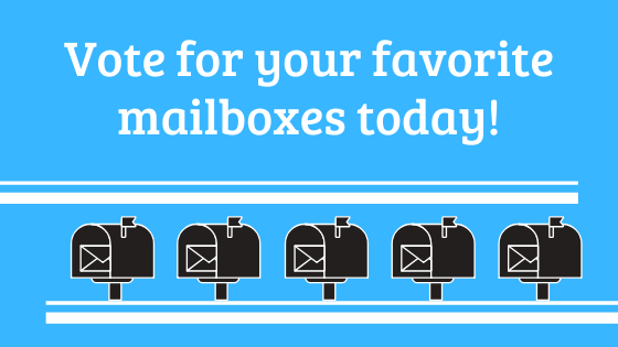 Vote today for your favorite mailbox!