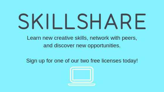 Sign up for Skillshare!